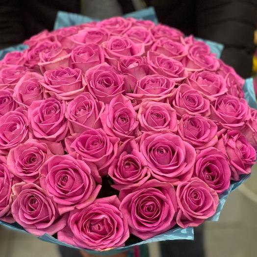 Эквадорская роза 51: букеты цветов на заказ Flowwow