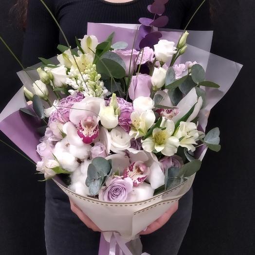Букет - Воздушный Поцелуй: букеты цветов на заказ Flowwow
