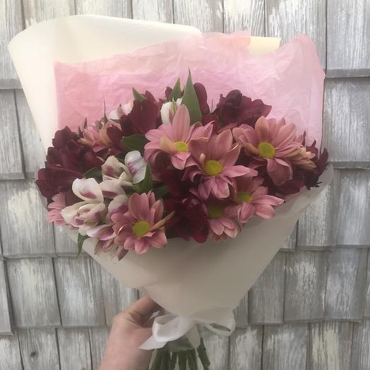 Букет «Полевой»: букеты цветов на заказ Flowwow