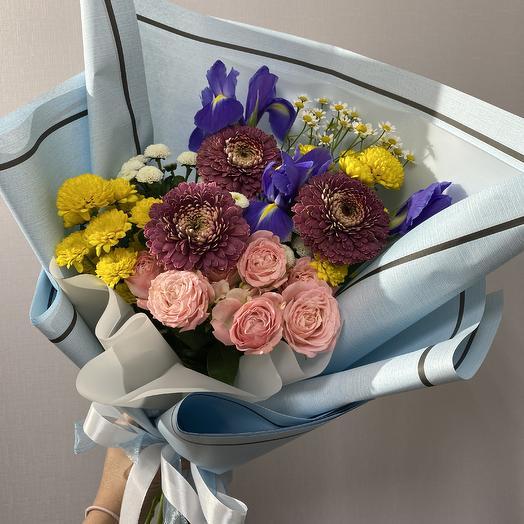 Яркий вечер: букеты цветов на заказ Flowwow