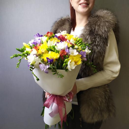 Ароматная радуга: букеты цветов на заказ Flowwow