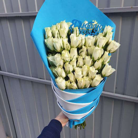 Косичка: букеты цветов на заказ Flowwow