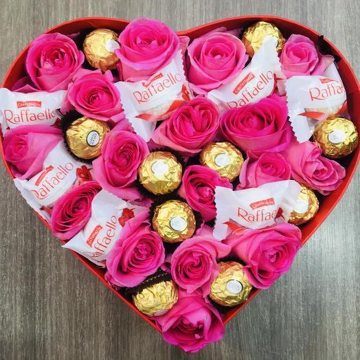 ✅ Цветы и конфеты Love