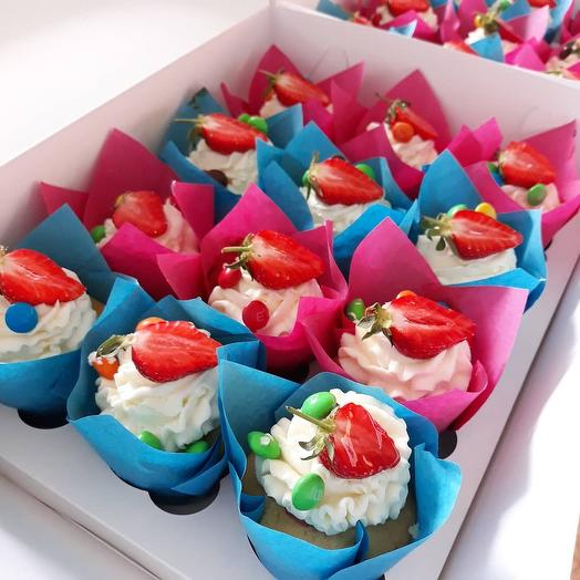 Капкейк: букеты цветов на заказ Flowwow
