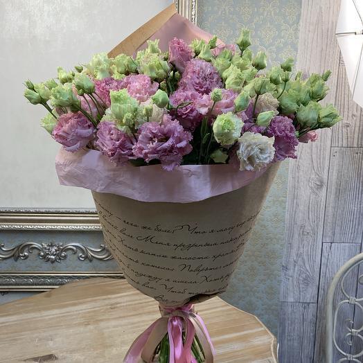 Моно эустома: букеты цветов на заказ Flowwow