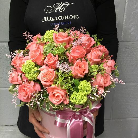 Коробка Карина 27: букеты цветов на заказ Flowwow