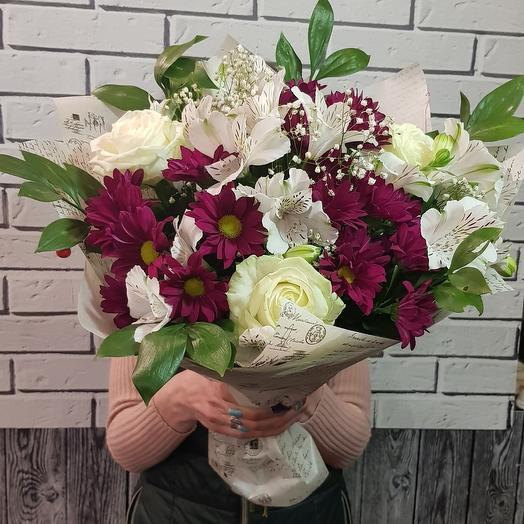 Букет Элегия: букеты цветов на заказ Flowwow