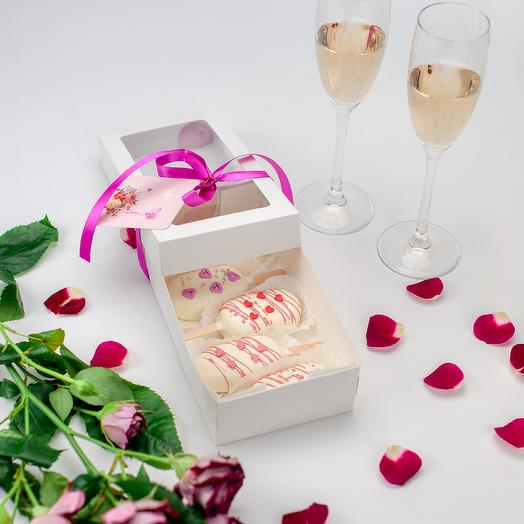 Мини эскимо Love: букеты цветов на заказ Flowwow