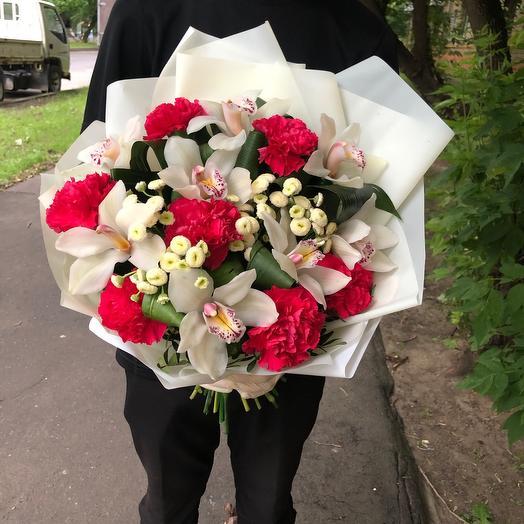 Букет «С лучшими пожеланиями!»: букеты цветов на заказ Flowwow