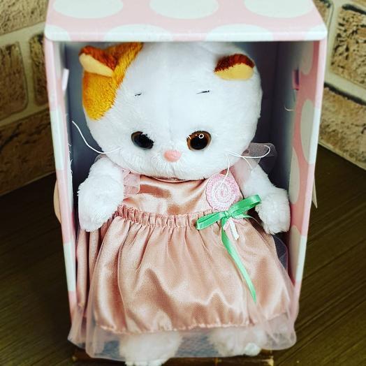 Кошечка Ли Ли в платье