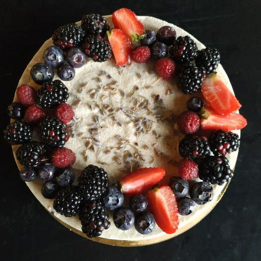Торт Rawcake черника-лаванда