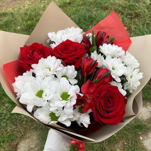 ✅ Букет цветов-Классик ХИТ