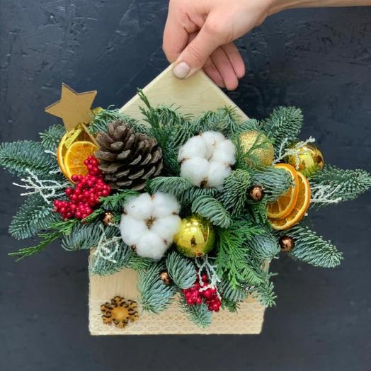 Композиция «Новогоднее письмо»