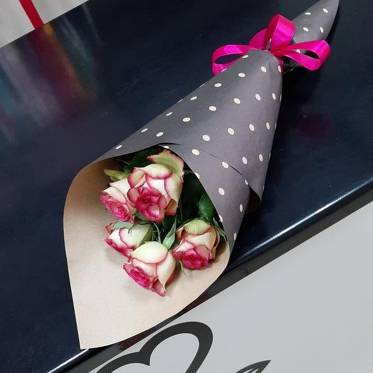 5 роз