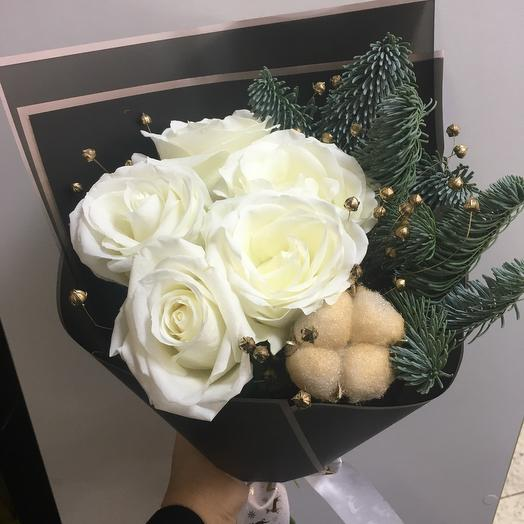 Букет новогодний