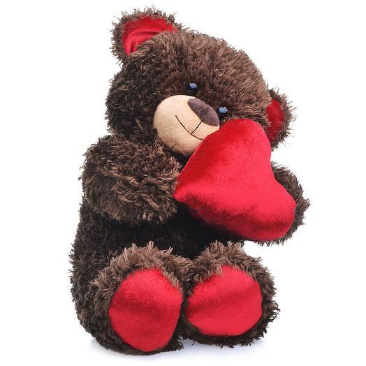 Игрушка Мишка Чиба с сердцем