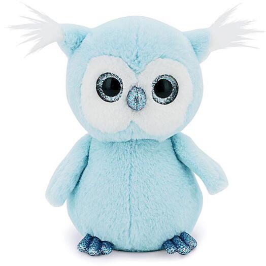 Мягкая игрушка «Совёнок» цвет голубой, 22 см