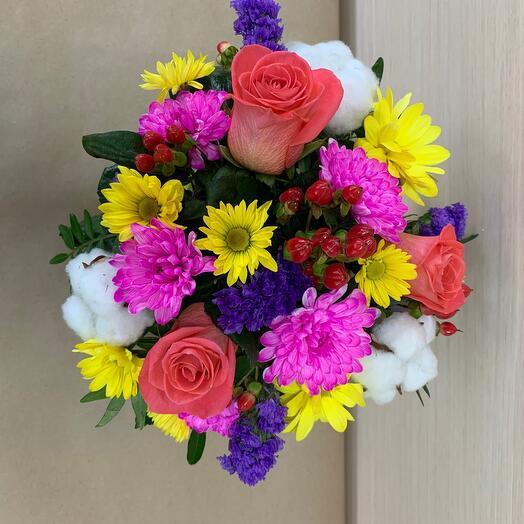 Цветы в коробке»вау «