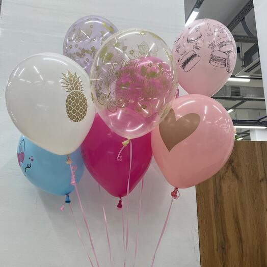 Сет из 8 шаров