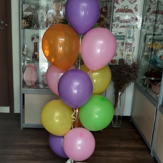 Набор гелиевых шаров (микс)