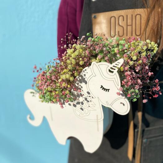 Цветы Гипсофилы «Вобшебный единорог»
