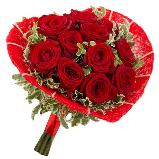Букет Страстная румба: букеты цветов на заказ Flowwow