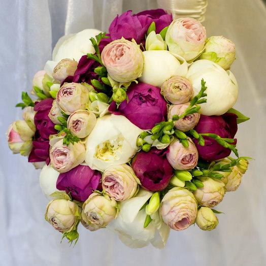 Букет невесты Паола: букеты цветов на заказ Flowwow