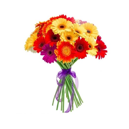 23 герберы под ленту: букеты цветов на заказ Flowwow