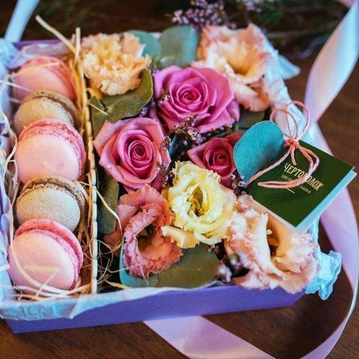 Нежность в пастельных тонах: букеты цветов на заказ Flowwow