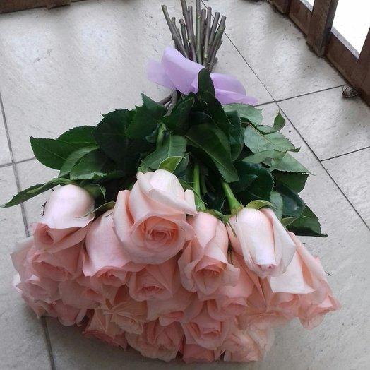 25 роз ( 50 см): букеты цветов на заказ Flowwow