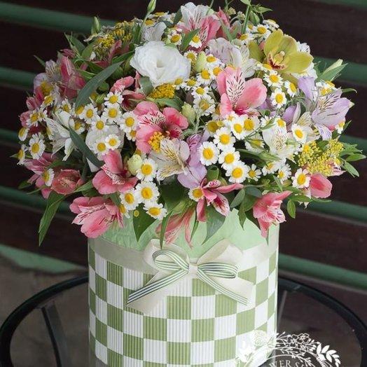 Коробка полевых цветов