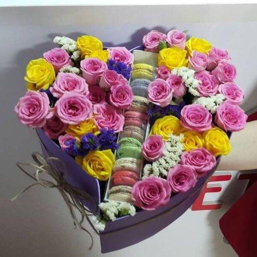 Вафелька: букеты цветов на заказ Flowwow