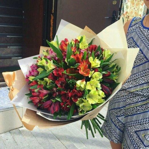 Осенний поцелуй: букеты цветов на заказ Flowwow