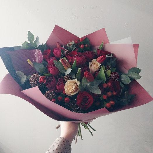 Crazy of love: букеты цветов на заказ Flowwow