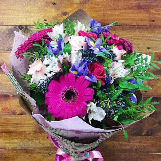 Яркий сочный букет: букеты цветов на заказ Flowwow
