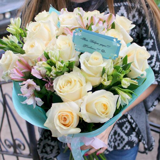 Нежнейшая Феерия: букеты цветов на заказ Flowwow