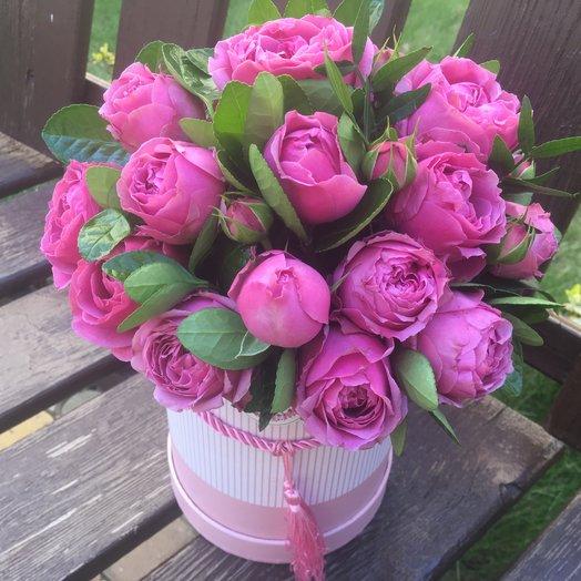 Цилиндр «Мисти баблс»: букеты цветов на заказ Flowwow