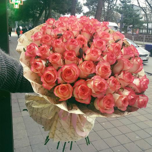 """Розы """"Джумилия"""": букеты цветов на заказ Flowwow"""