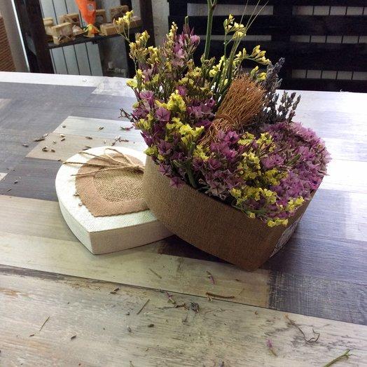 Теплое сердце: букеты цветов на заказ Flowwow