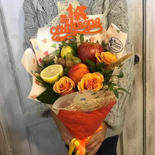 Осенний: букеты цветов на заказ Flowwow