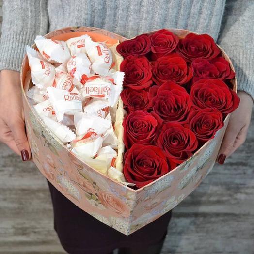 Любовная любовь: букеты цветов на заказ Flowwow