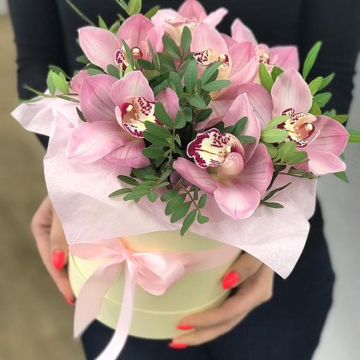 Орхидеи для Любимых: букеты цветов на заказ Flowwow