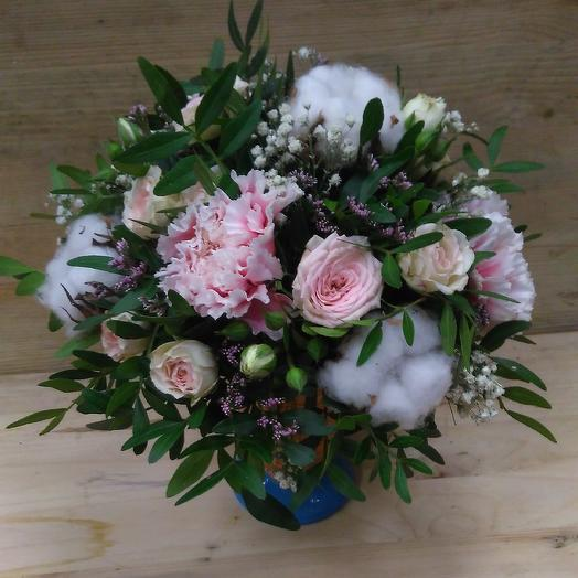 Ванильное небо: букеты цветов на заказ Flowwow