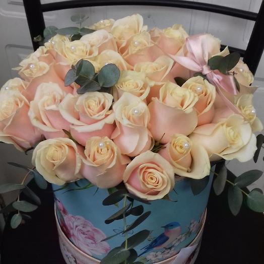 Крем брюлле: букеты цветов на заказ Flowwow