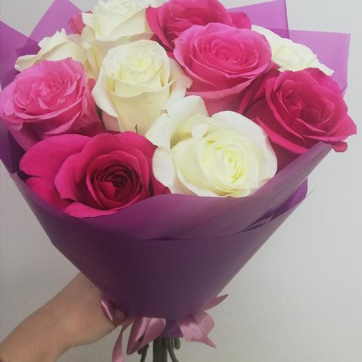 Pink evening: flowers to order Flowwow