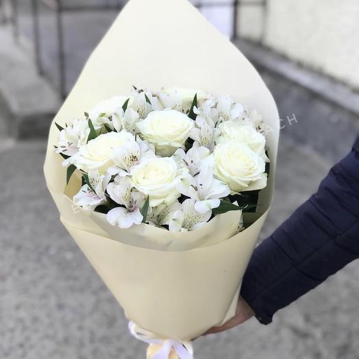 Букет 201: букеты цветов на заказ Flowwow