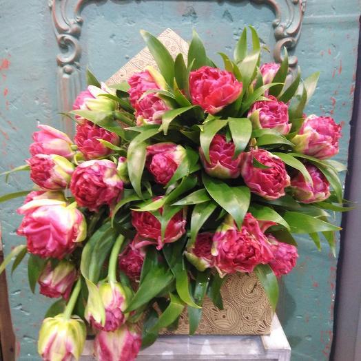 Со всей страстью: букеты цветов на заказ Flowwow