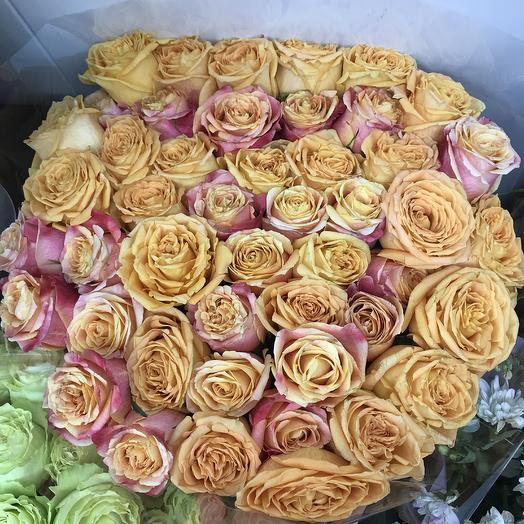 29 роз 70 см 😍: букеты цветов на заказ Flowwow