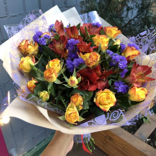 Букет Красавчик: букеты цветов на заказ Flowwow
