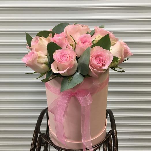 Коробка «Pure Pink»: букеты цветов на заказ Flowwow